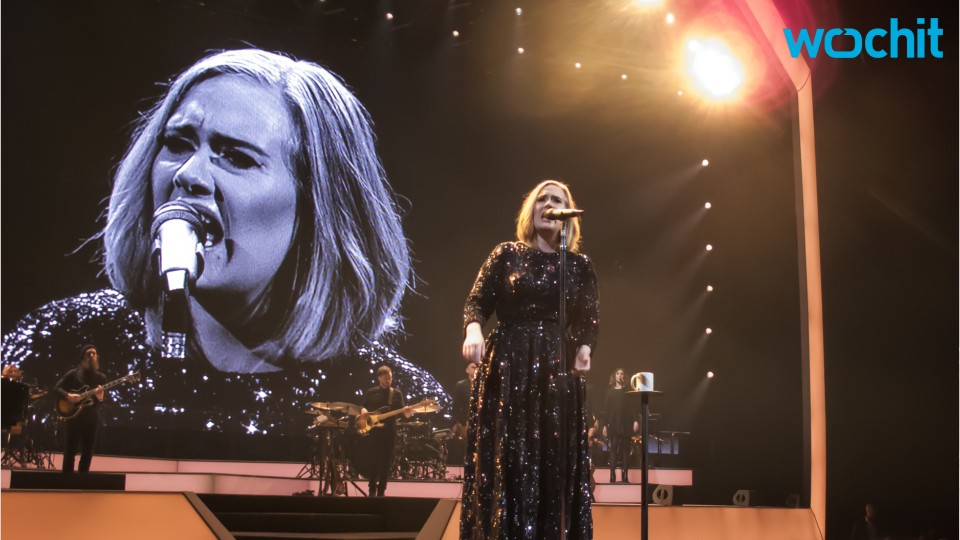 Adele Takes A Moment From Belfast Tour, Visits A Special Fan