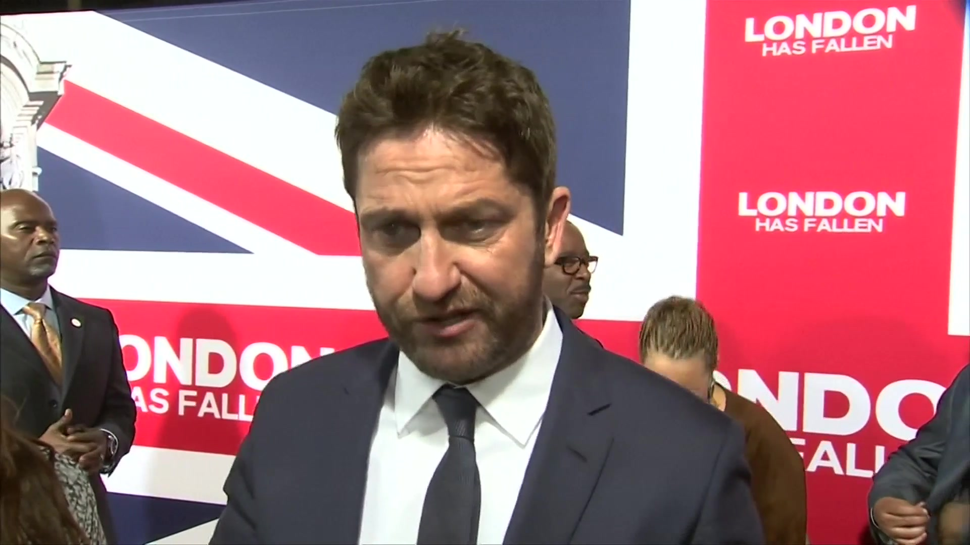 Gerard Butler Back in 'London Has Fallen'