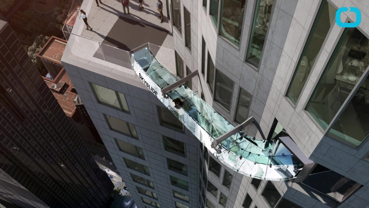 LA Gets A Glass Slide On The 70th Floor Of A Skyscraper