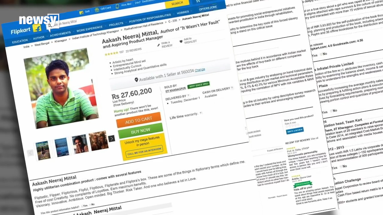 Man Puts Himself Up for Sale to Get a Job at an Online Marketplace