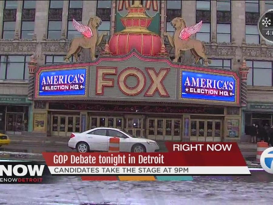 GOP Debate Tonight in Detroit