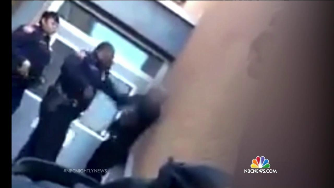 Video Allegedly Shows Baltimore School Officer Slapping, Kicking Teen