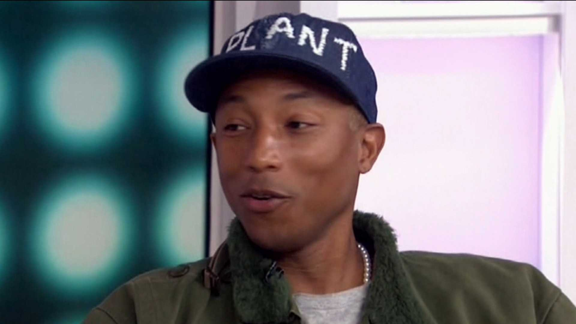 Pharrell Williams Sounds Off on Gwen and Blake