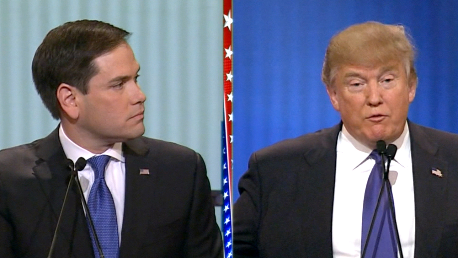 'Little Marco,' Hand Size Are Hot Topics at Debate