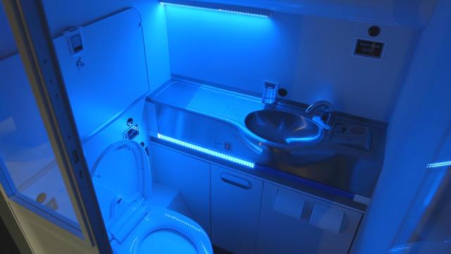 Boeing Developing Self-Cleaning Bathrooms For Future Flights