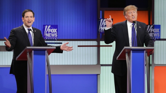 'Big Don' and 'Little Marco' Kind of Derailed the Fox News Debate