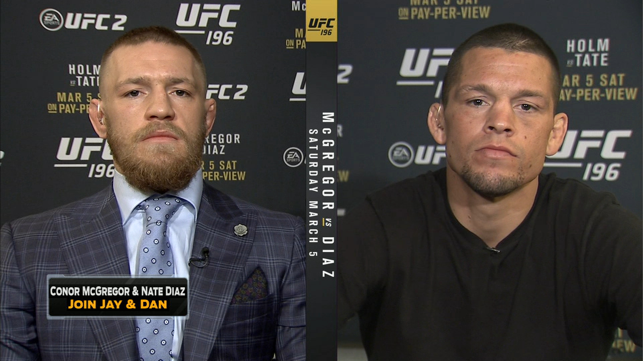 Conor McGregor and Nate Diaz Join FOX Sports Live