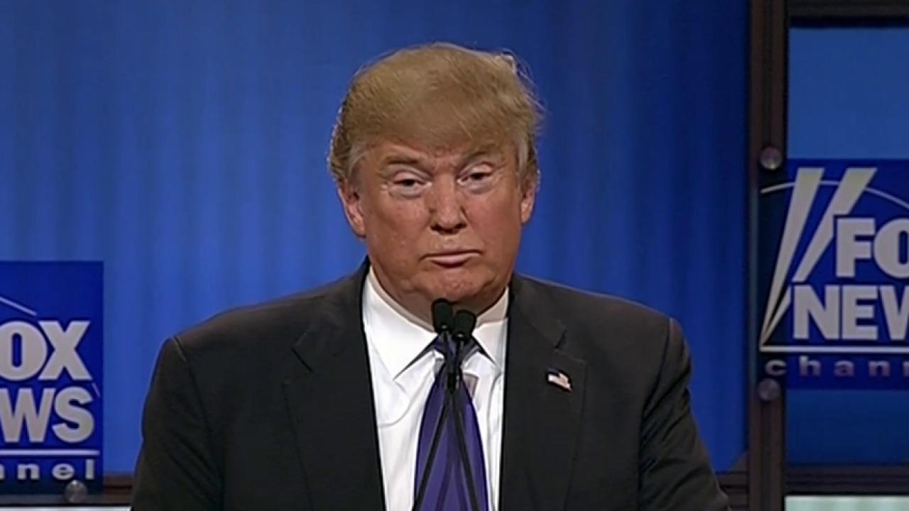 Donald Trump Put in the Hot Seat as GOP Debate Gets Dirty