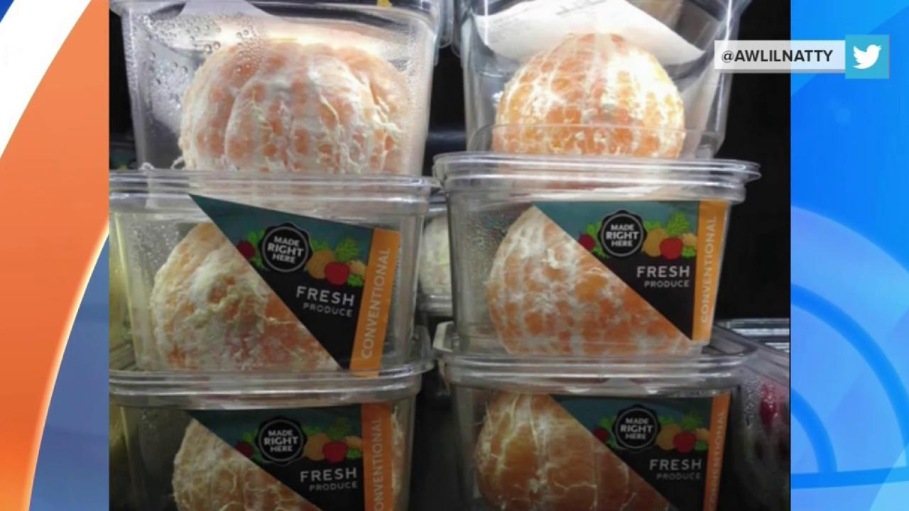 Whole Foods: We're Sorry for Selling Peeled Oranges in Plastic Containers