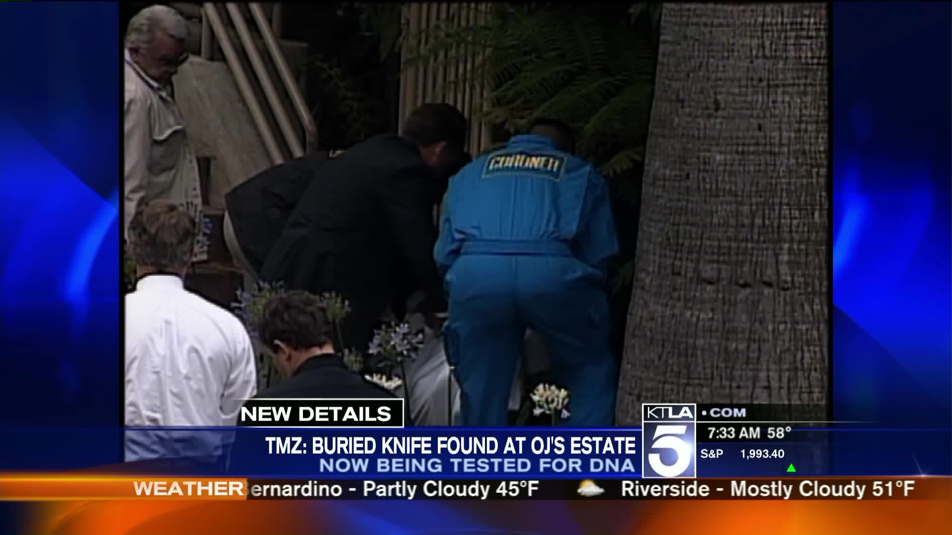 Officials Allegedly Investigating Knife Found On O.J. Simpson's Property