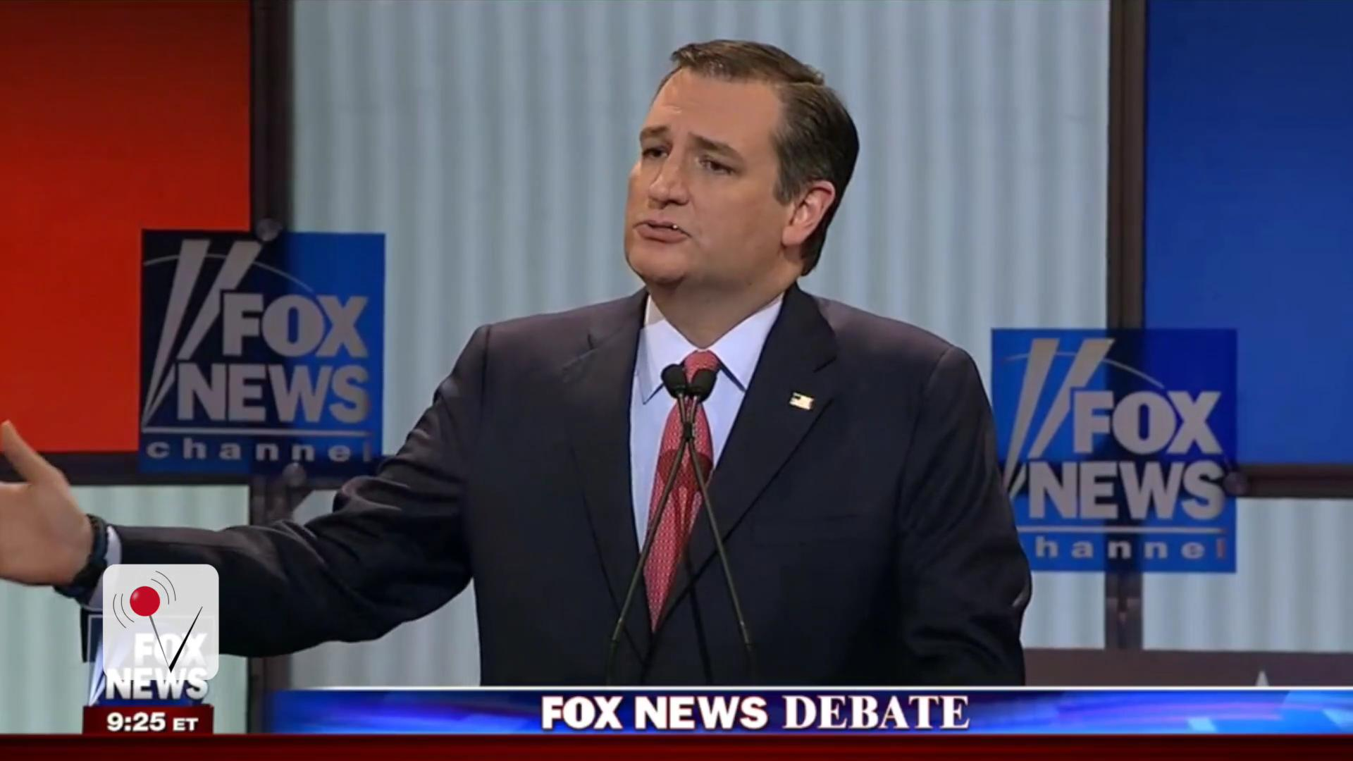Did Ted Cruz Eat a Booger on National TV?