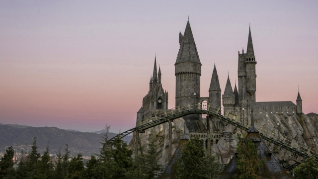 Gulpin' Gargoyles! A New Harry Potter Ride Is Making People Sick
