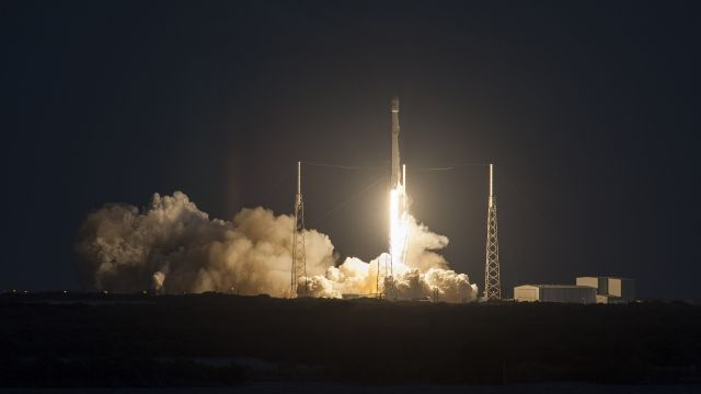 SpaceX Successfully Launches Satellite but Misses the Landing