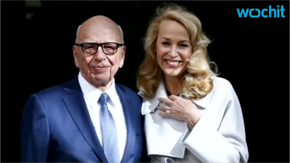 Rupert Murdoch and Jerry Hall Tie The Knot In London
