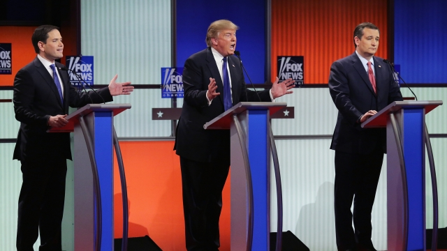 Rival GOP Campaigns Complain Donald Trump Broke Debate Rules