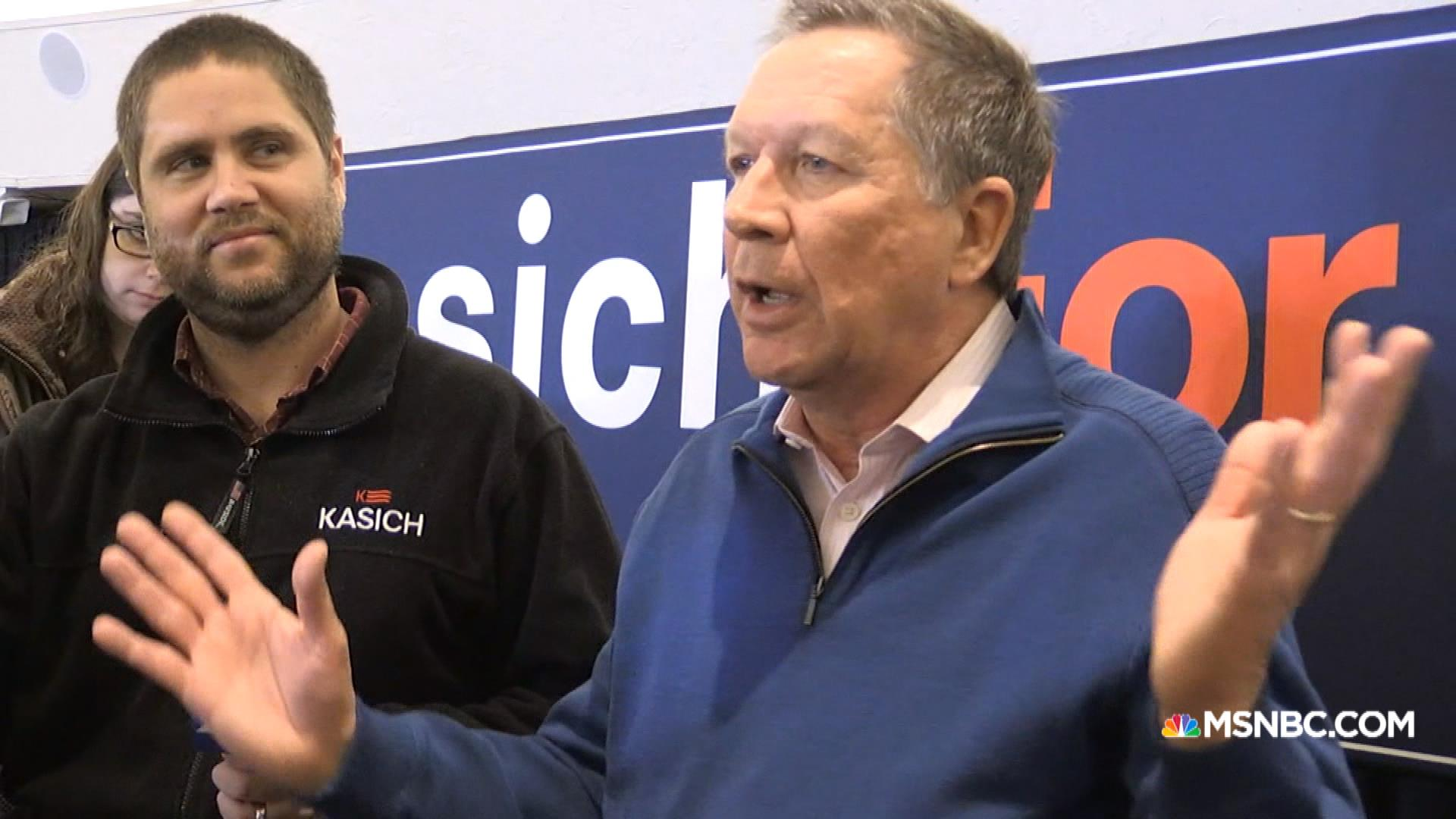 Kasich: 'I'm with Harry Potter'