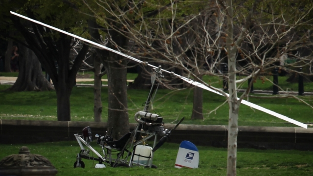 Prosecutors Say DC Gyrocopter Came Dangerously Close to Plane