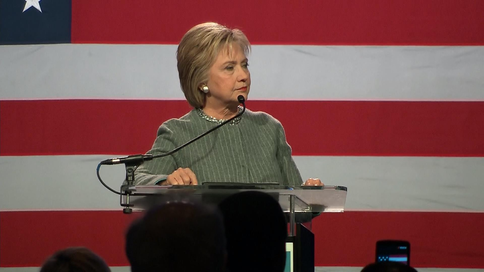 Clinton Concerned About Future of Supreme Court