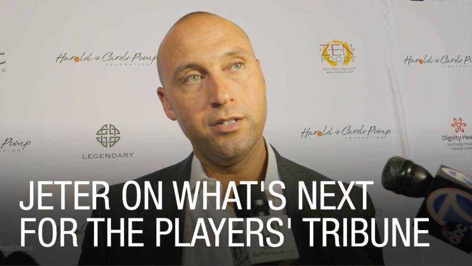 Jeter on What's Next for The Players' Tribune