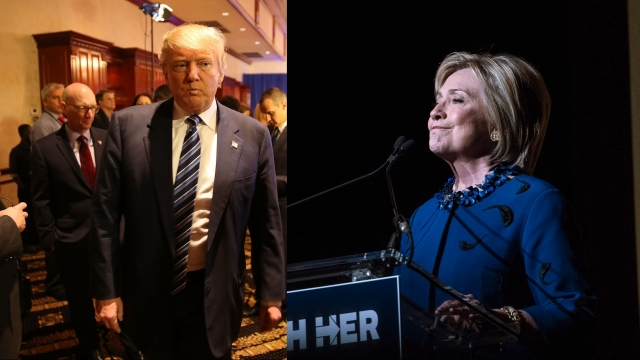Donald Trump, Hillary Clinton Are Polling Strong in Michigan's Primary