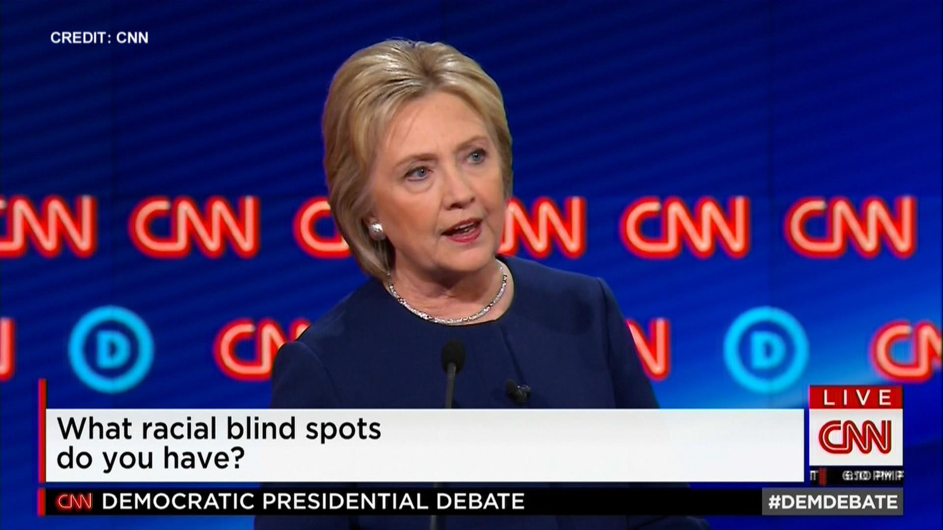 Hillary Clinton on Racial Blindspots