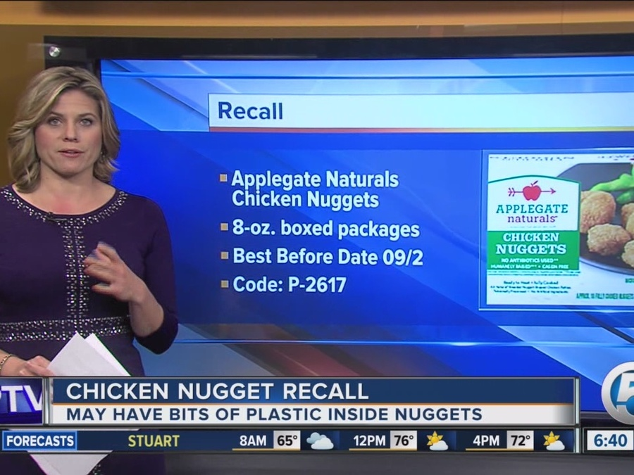 Applegate Chicken Nuggets Recalled