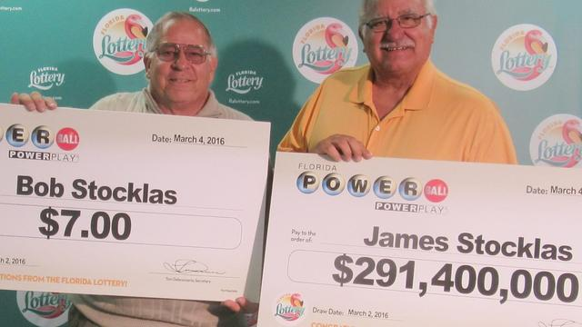 Two Brothers Claim Wins In Florida Powerball - One $291.4M And The Other $7