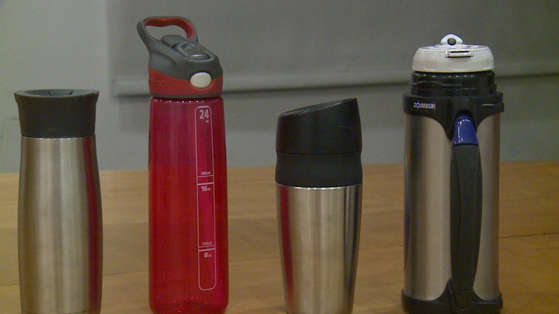 Shocking Amount of Mold Found in Travel Mugs