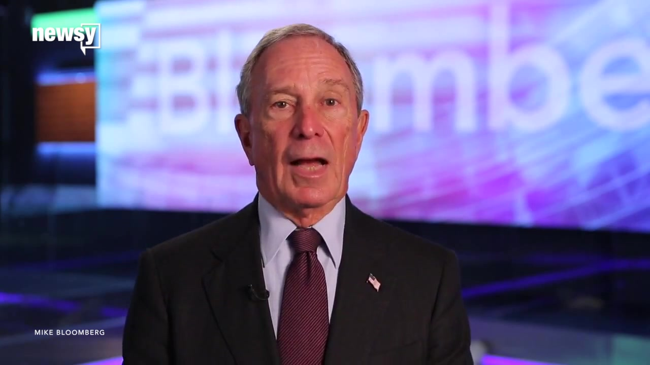 Michael Bloomberg Says He Won't Run for President