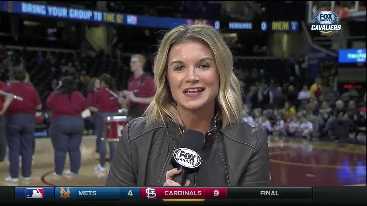 Allie Dives Into LeBron's 'Beautiful Mind' on Social Media