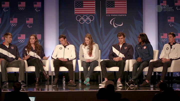 U.S. Swimmers Discuss Rio Olympics