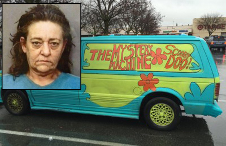 Woman Leads Police on Chase While Driving 'Mystery Machine'