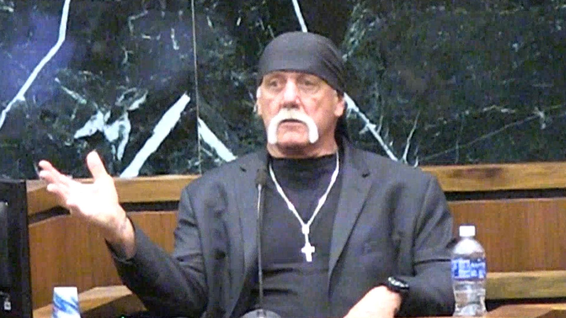 Hulk Hogan Returns to Stand in Suit Against Gawker