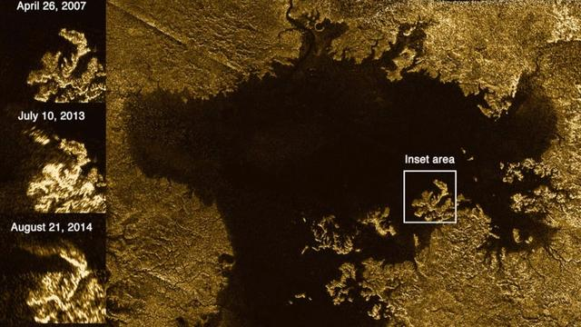 Could Mysterious Glimmer On Saturn's Moon Titan Be Waves?