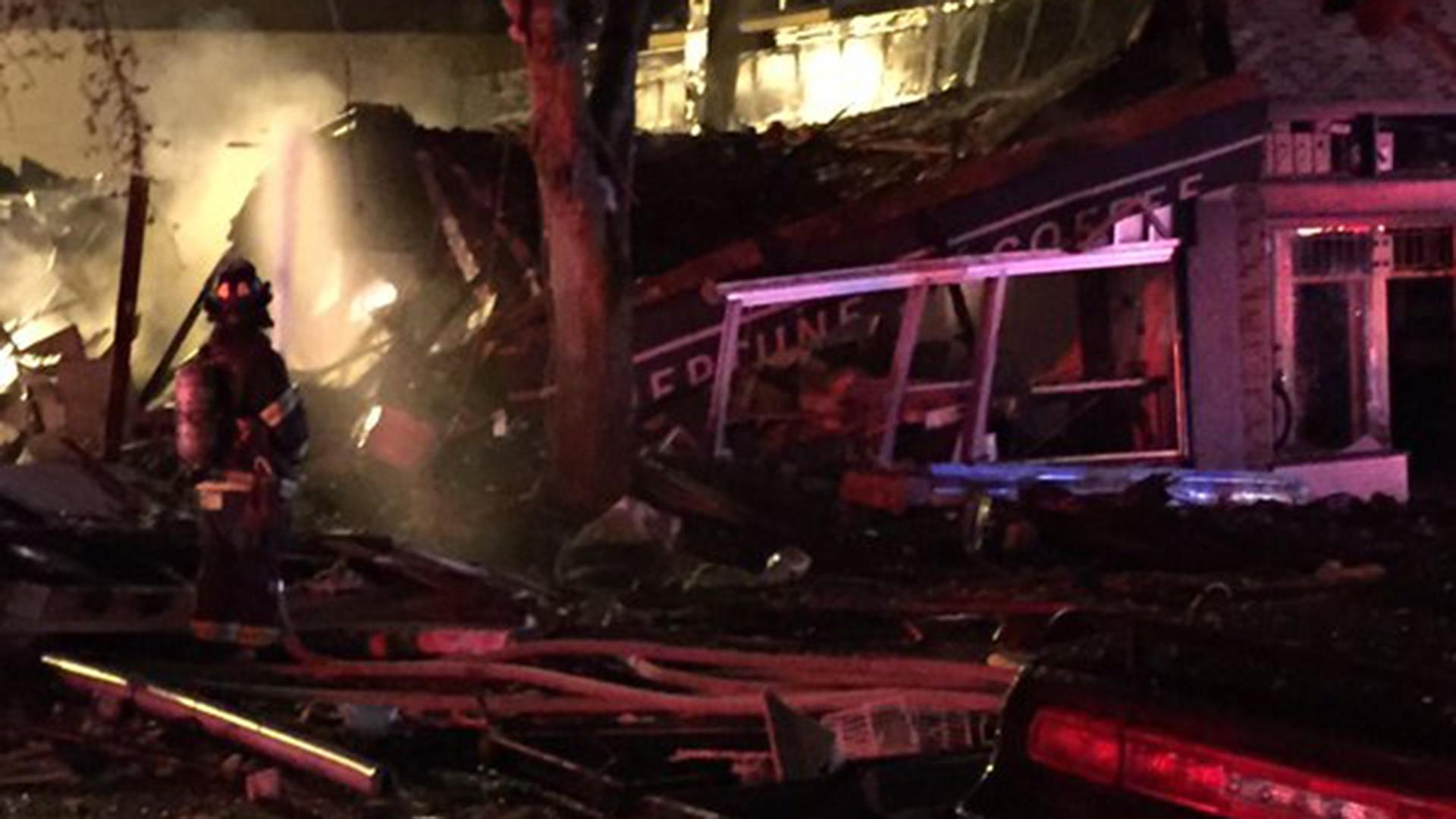 Scenes of Devastation After 'Massive' Explosion Rocks Seattle