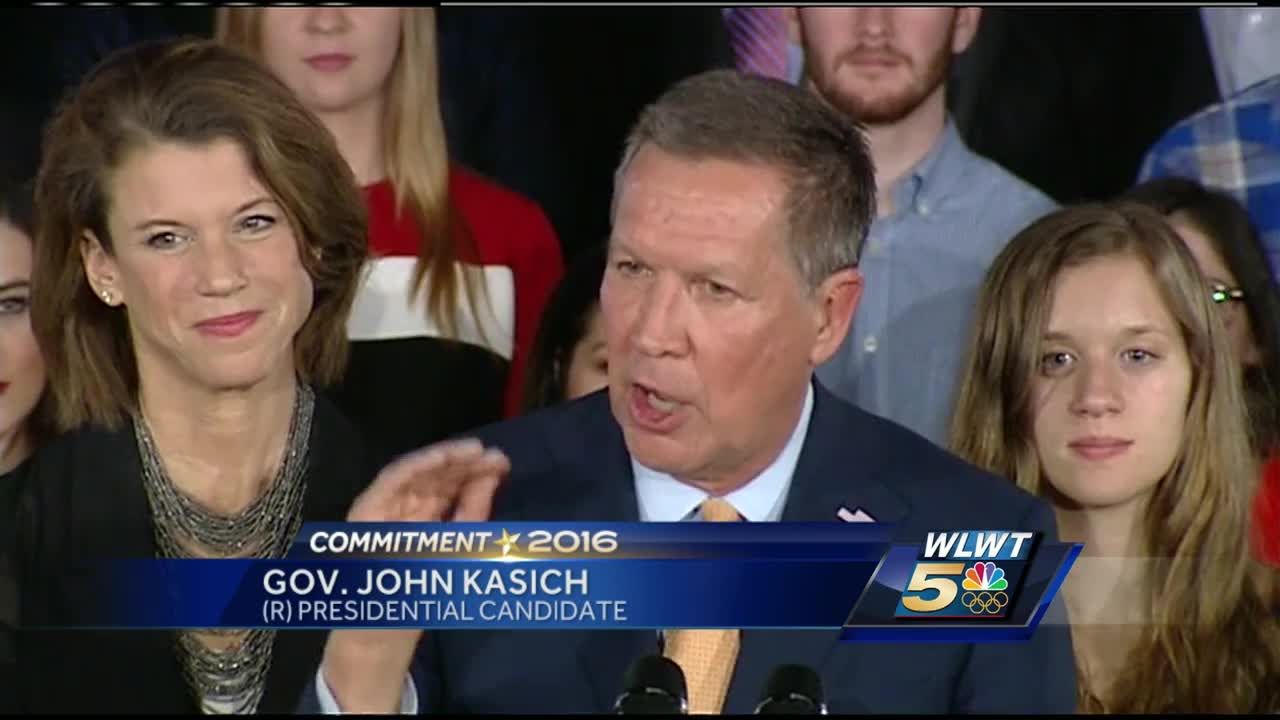 Kasich: 'We Are Going to Win the State of Ohio, and It Will Be a Whole New Ballgame'