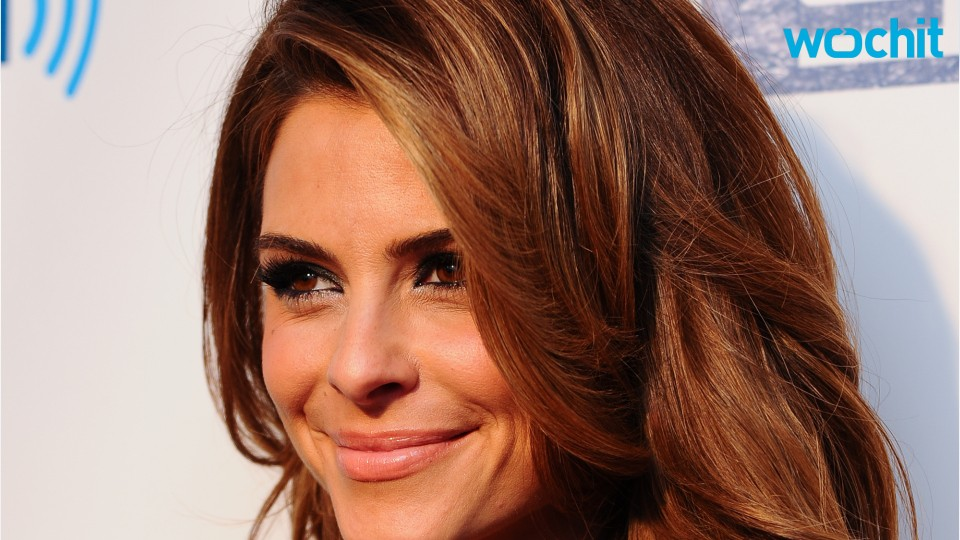 Is Maria Menounos Engaged?
