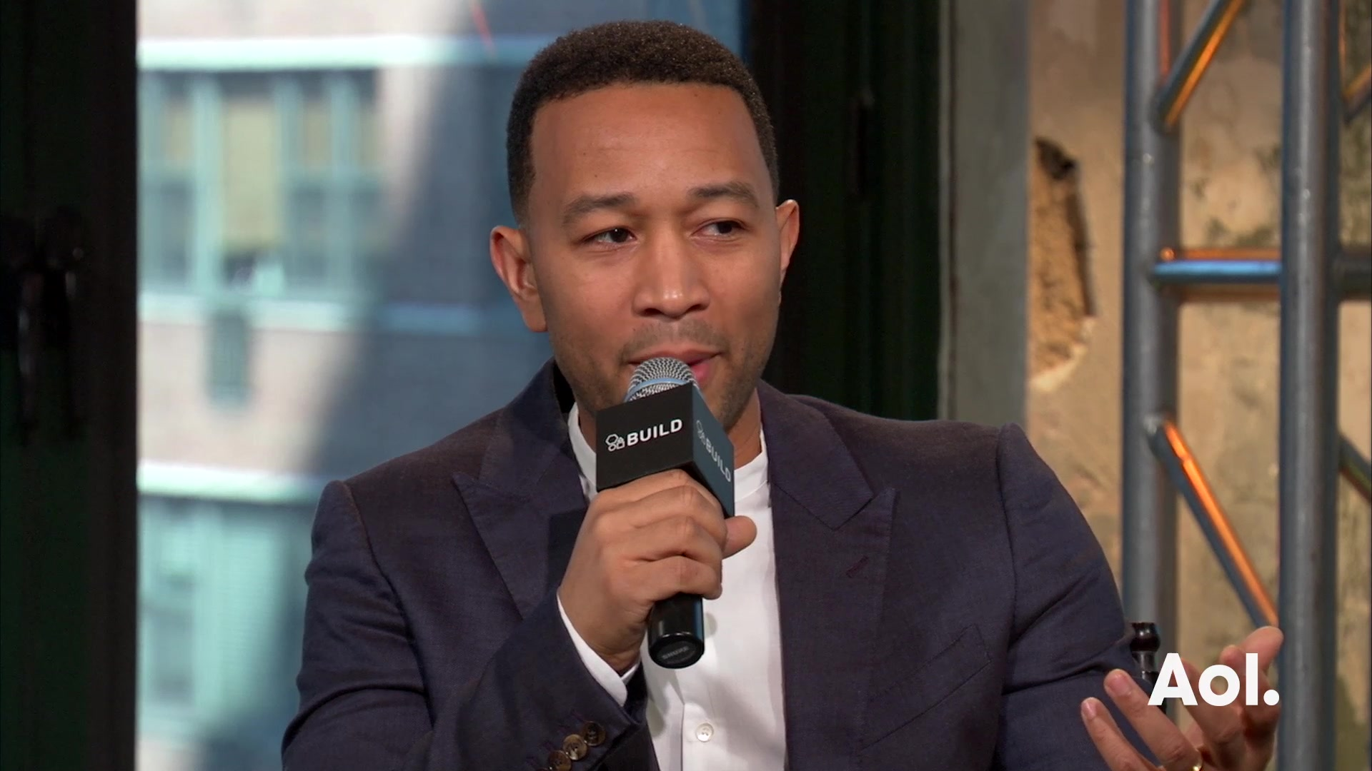 "John Legend on WGN America's ""Underground"""