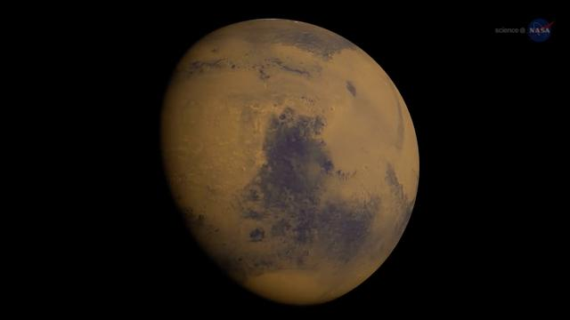 NASA: Comet's Flyby Of Mars Had 'Profound' Effect On Its Magnetic Field