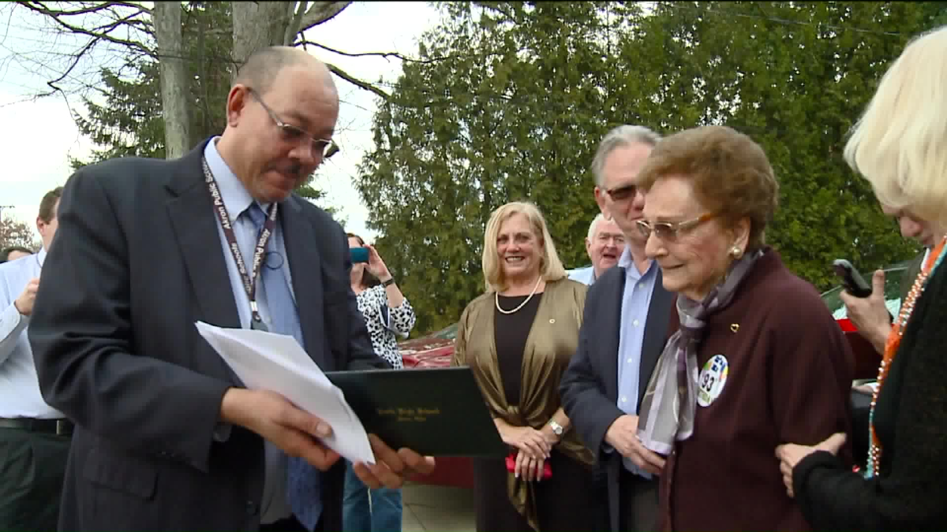Woman Surprised With Honorary High School Diploma On 93rd Birthday