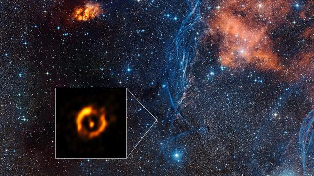 Best Image Yet Of Aging Star's Disc Captured