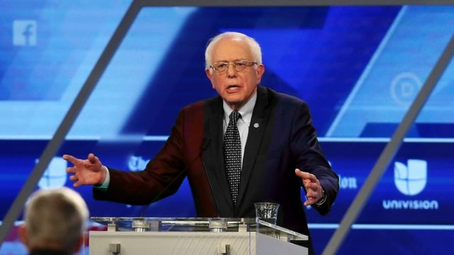 Seriously, What Color Is Bernie Sanders' Suit?