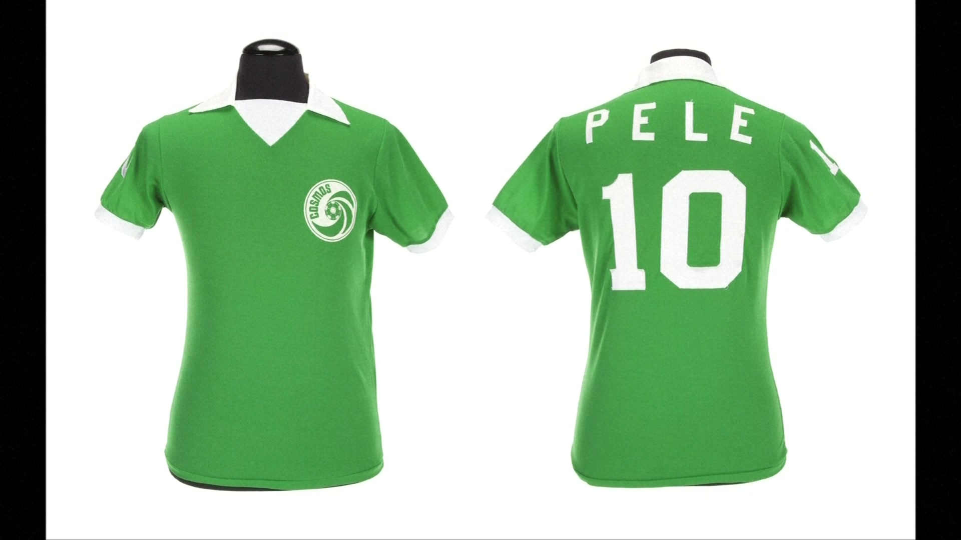 Pele's Greatness Offered at Auction