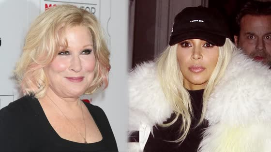 Kim Kardashian VS. Bette Midler! The Twitter War Wages On!