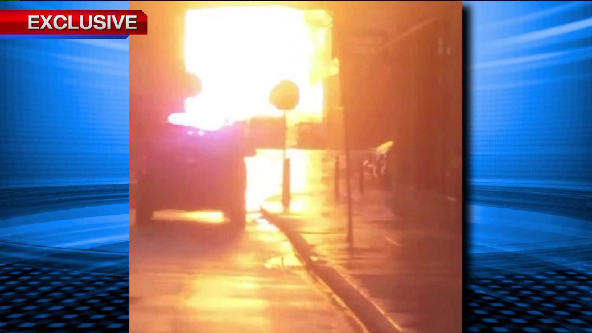 Propane Tank Explodes Near Ohio Shopping Center