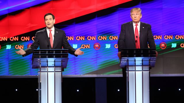 Rubio to Trump: 'I Want to Be Correct,' Not Politically Correct