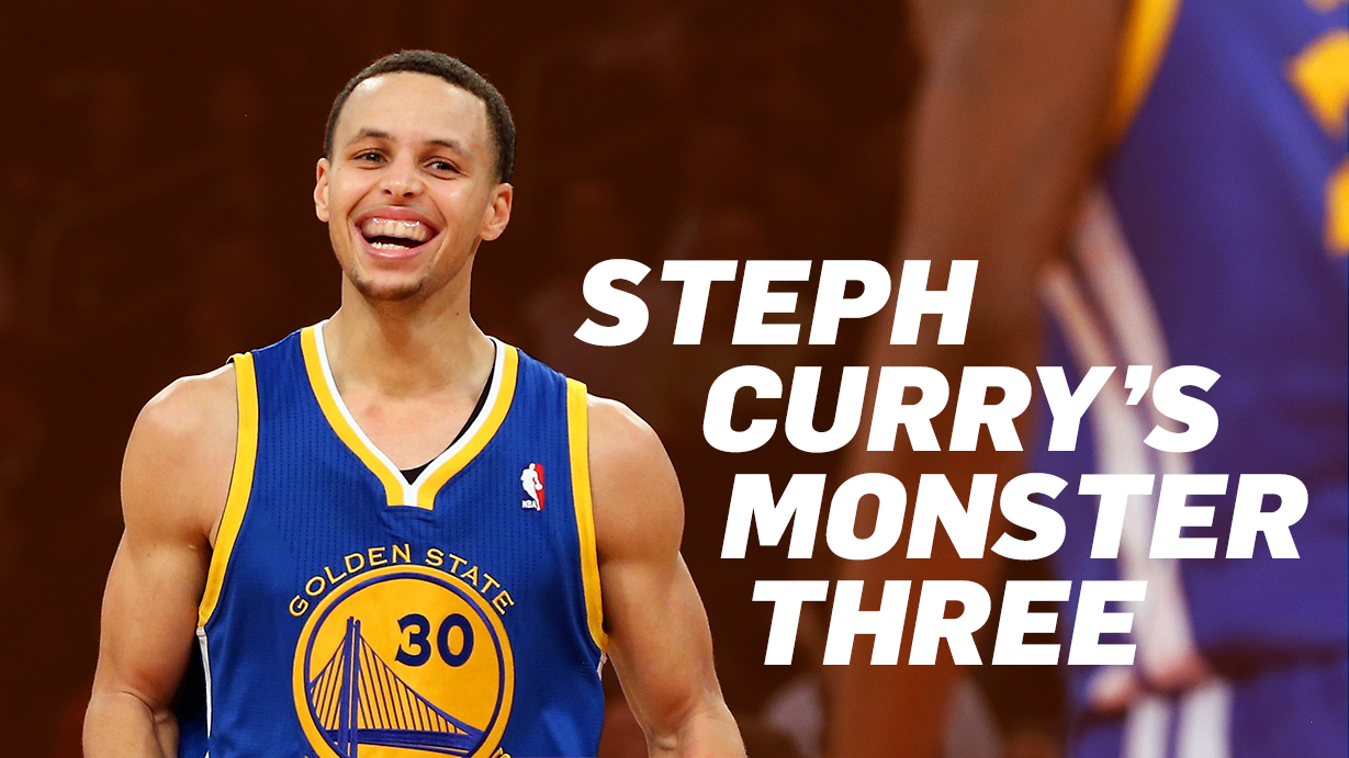 Steph Curry's Monster Three