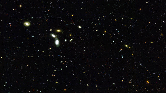 Astronomers Discover The Biggest Structure In Universe