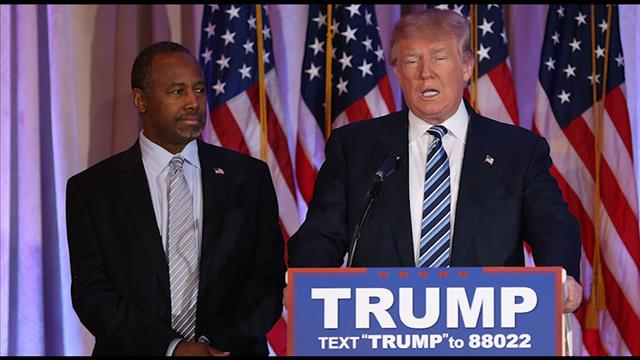 Carson Endorses, Says There Are 'Two Donald Trumps'