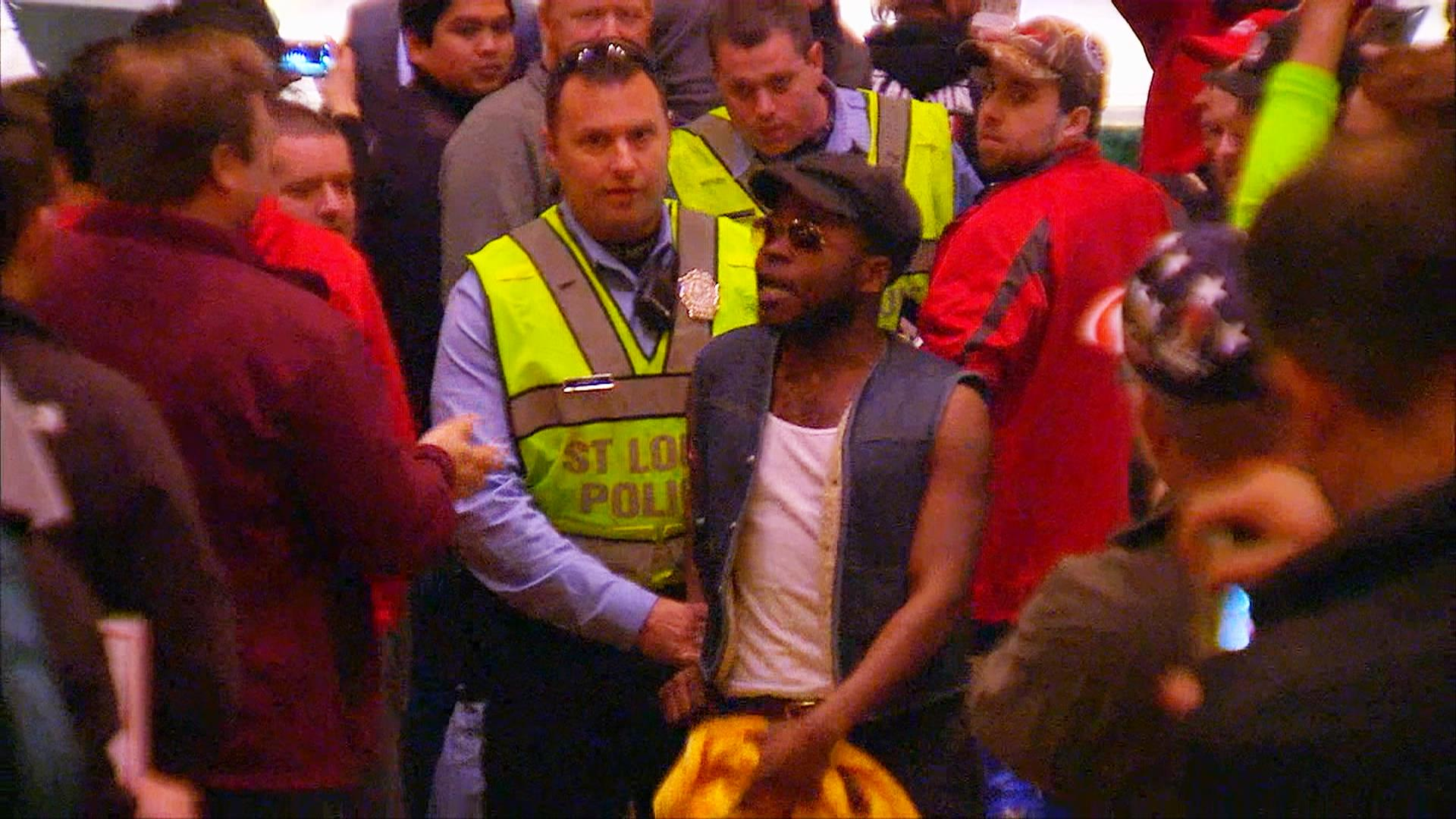 Protesters Disrupt Trump Rally in St. Louis